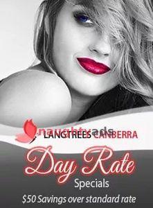 Profile Image of Canberra Escort Day Rates Promo